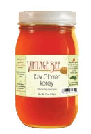 We sell Raw Clover Honey